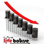 نگرانی از عرضه مازاد، نفت را در کف دوماهه نگاه داشت/ نفت برنت 45 دلار