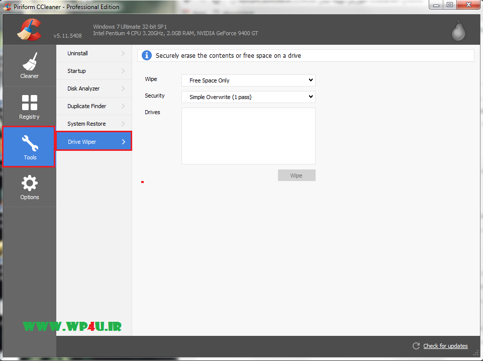 آموزش بهینه سازی ویندوز با CCleaner - 6