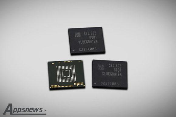 سامسونگ تولید انبوه حافظه های فلش با ظرفیت 256 گیگابایتی را برای دستگاه های رده بالا آغاز کرد
