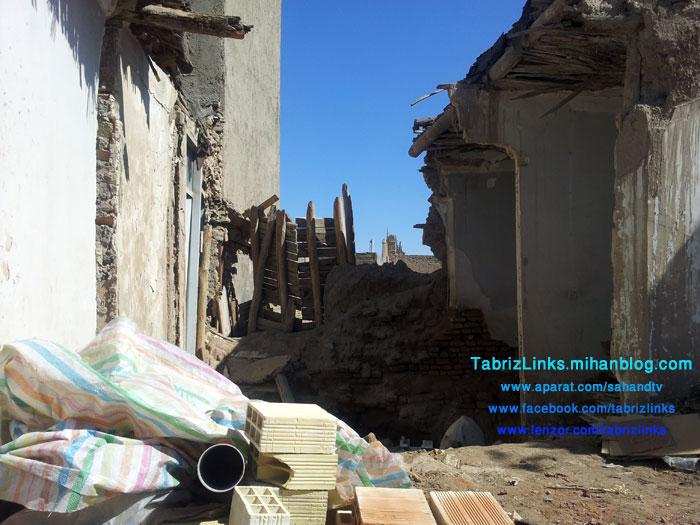 خرابه مسجد تبریز