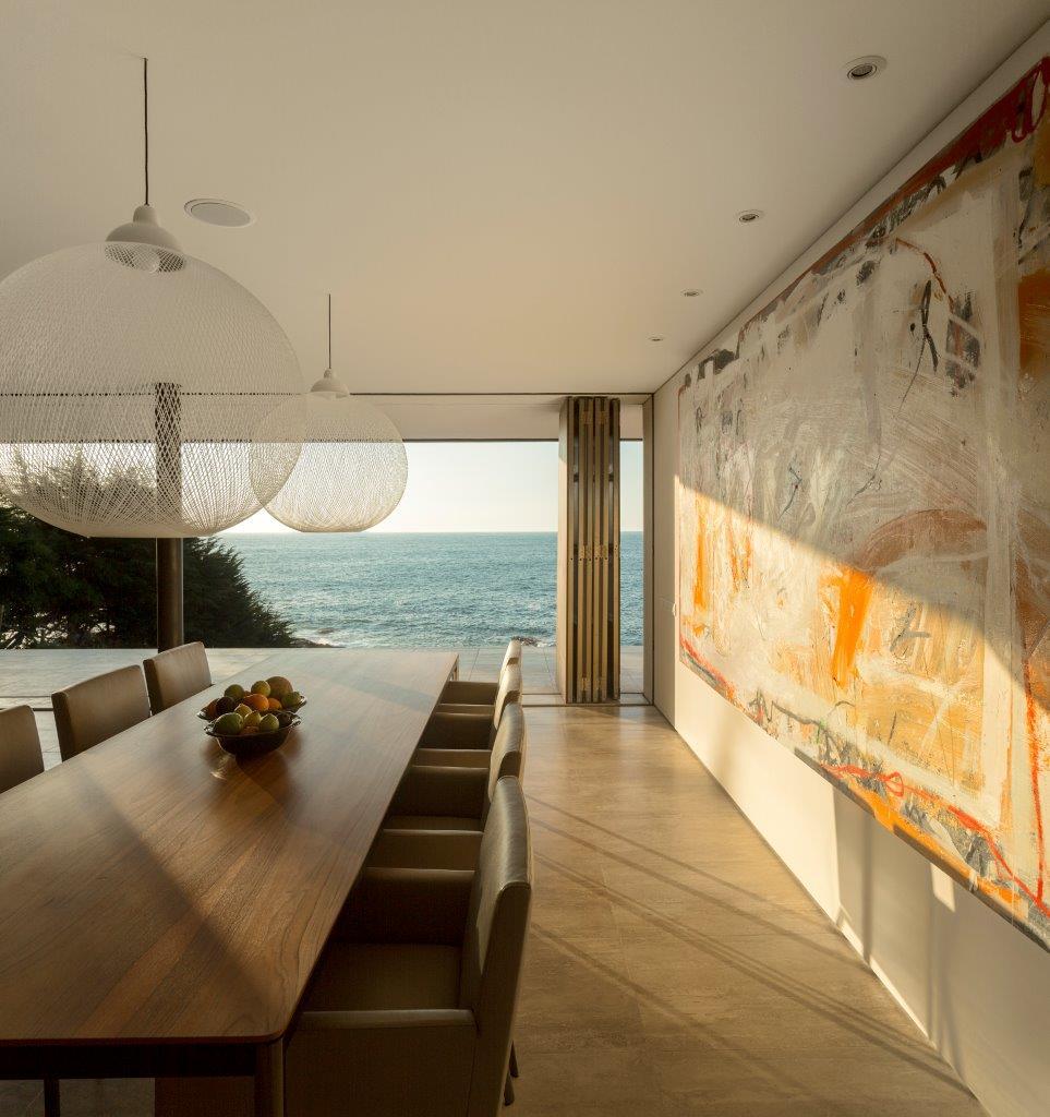طراحی ویلا مشرف به اقیانوس