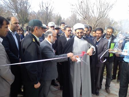 افتتاح ایستگاه پلیس راهور شهر قهدریجان