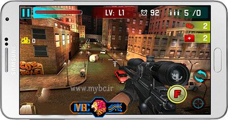 دانلود بازی Sniper Shoot War 3D 2.3 – شلیک تک تیر انداز برای اندروید
