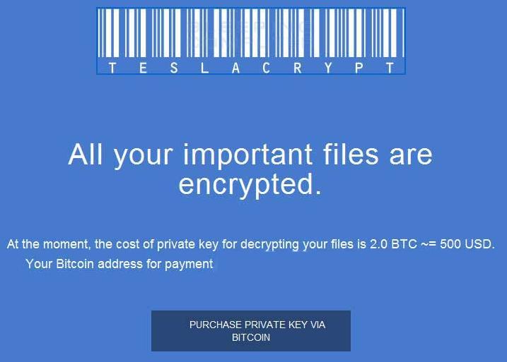 رمزگشایی فایلهای رمزشده توسط باجافزار TeslaCrypt