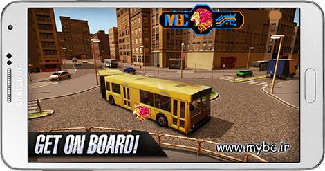 دانلود بازی Bus Simulator 2015 2.1 – شبیه سازی اتوبوس برای اندروید + پول بی نهایت