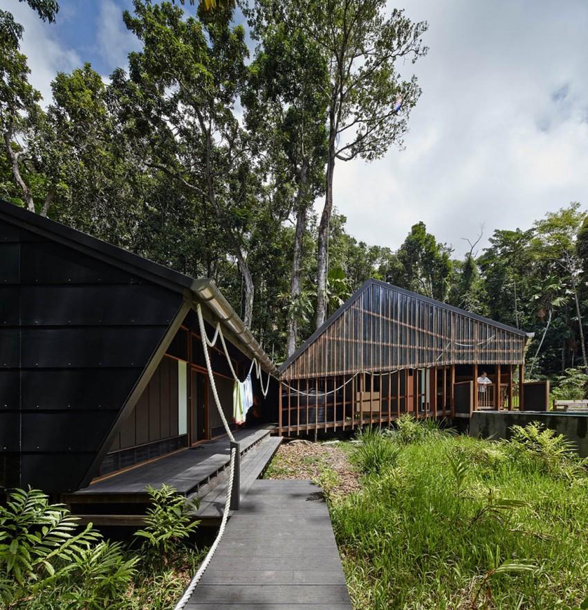 طراحی ویلا جنگلی