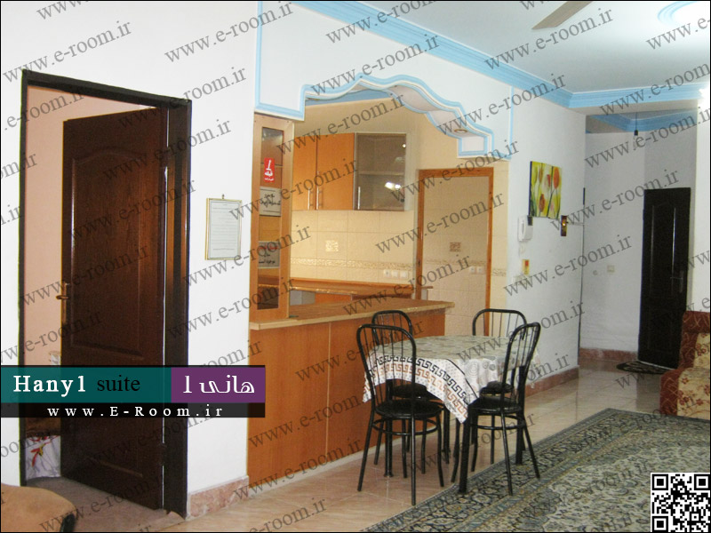 سوئیت آپارتمان ساحلی هانی محمودآباد