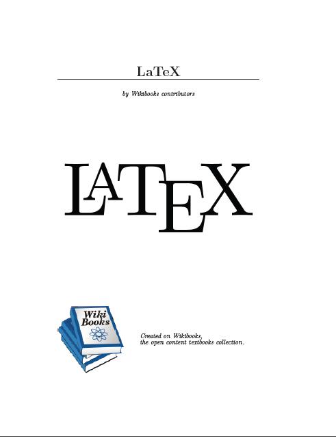 دانلود راهنمای لاتکس