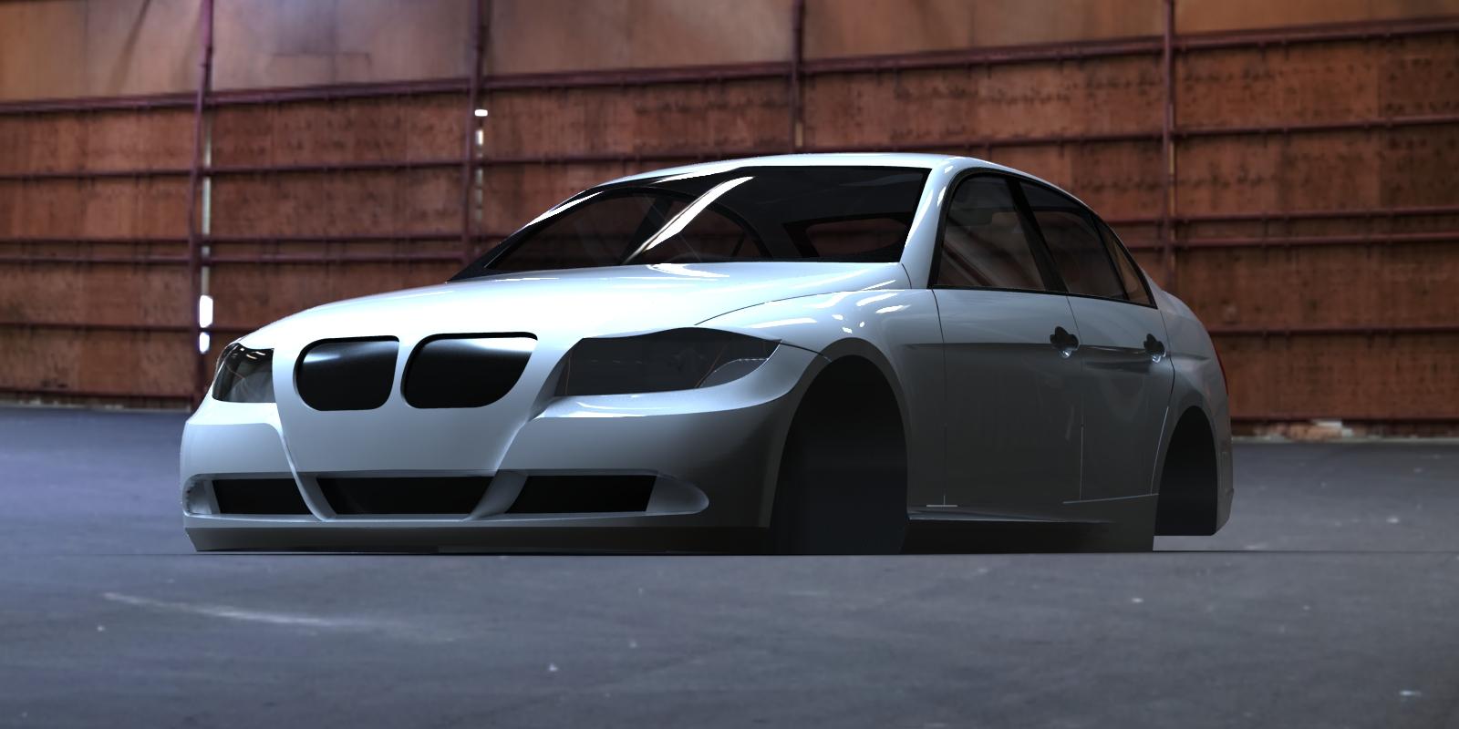 مدل و نقشه سه بعدی BMW