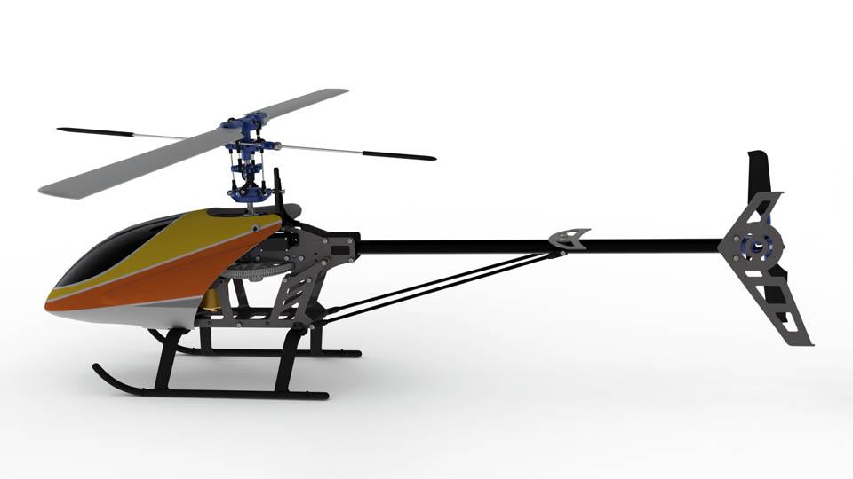 مدل سه بعدی هلیکوپتر