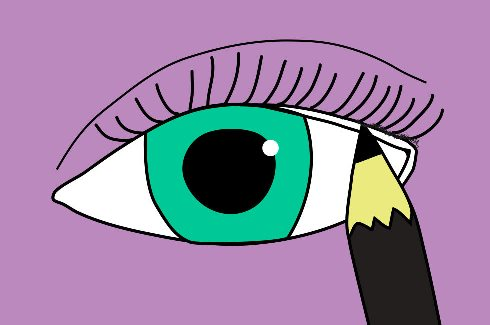 کشیدن 3 مدل خط چشم زیبا برای خانم های مبتدی!! , آرایش و زیبایی