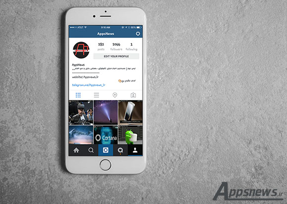 اینستاگرام لینک های به اشتراک گذاشته شده کاربرانش به تلگرام را فیلتر کردند!