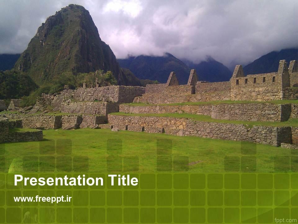 قالب پاورپوینت بناهای تاریخی 2