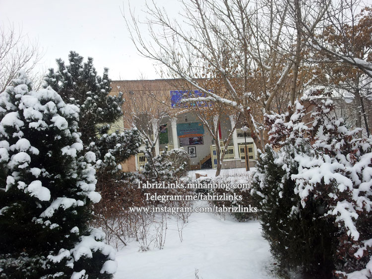 سرمای تبریز