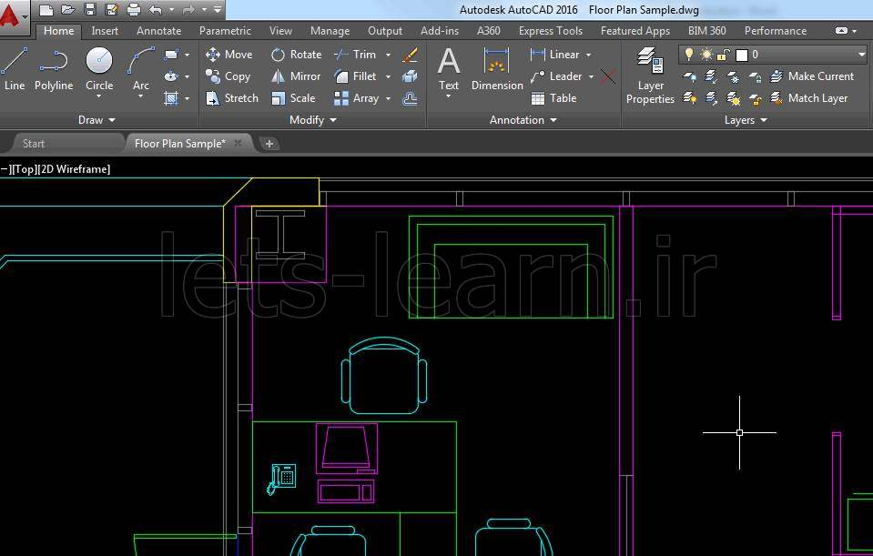 بهبود Object Selection در AutoCAD 2016
