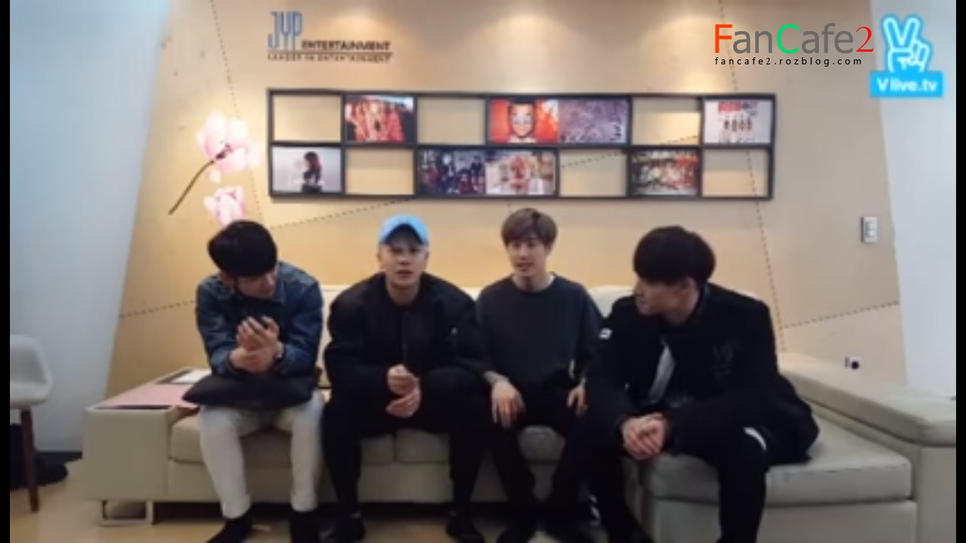 160311 Naver V App Spoiler GOT7 - JB, Mark, Jackson & Junior با زیرنویس فارسی