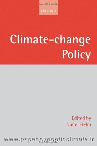 دانلود کتاب سیاست تغییرات اقلیمی(Climate-change Policy)