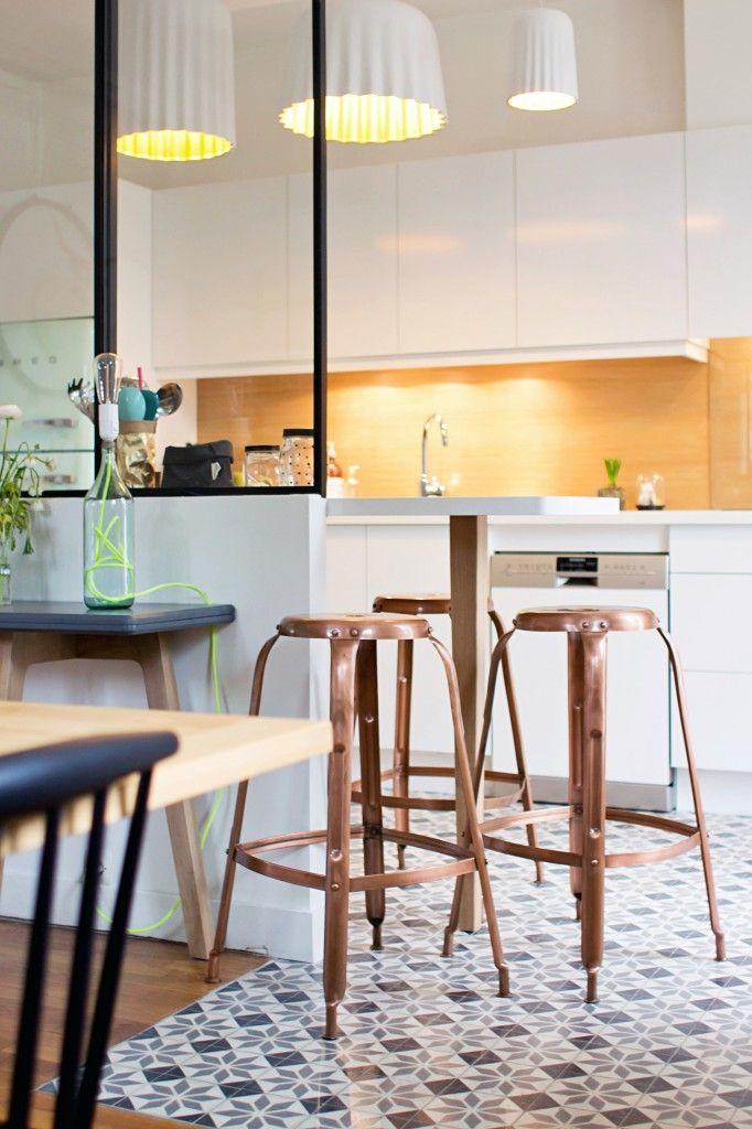 کانتر جزیره اوپن در آشپزخانه
