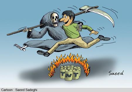 جدیدترین کاریکاتور و عکس های خنده دار چهارشنبه سوری