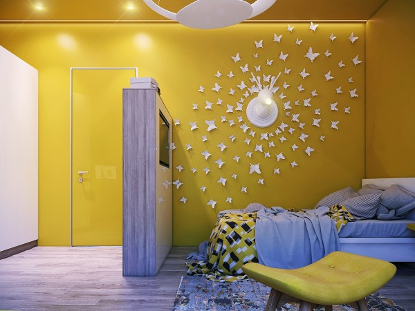 اتاق خواب کودک خلاق