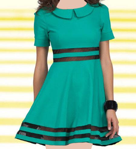 جدیدترین و زیباترین لباس کوتاه دخترانه ۲۰۱۶ , مدل لباس