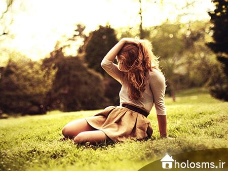 عکس دختر تنها - 4