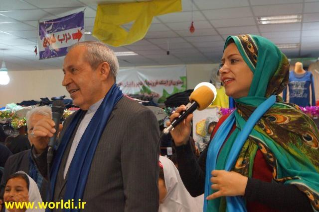 جشن خیریه در کنار وزیر آموزش و پرورش