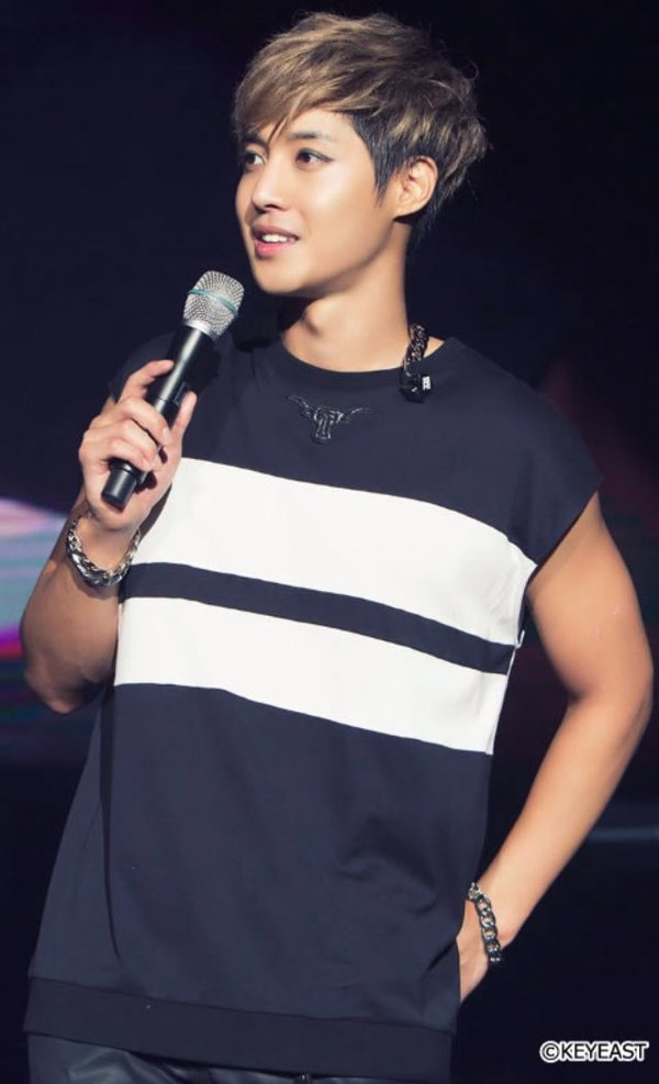 [Photo] Kim Hyun Joong Japan Mobile Site Update [2016.02.29]