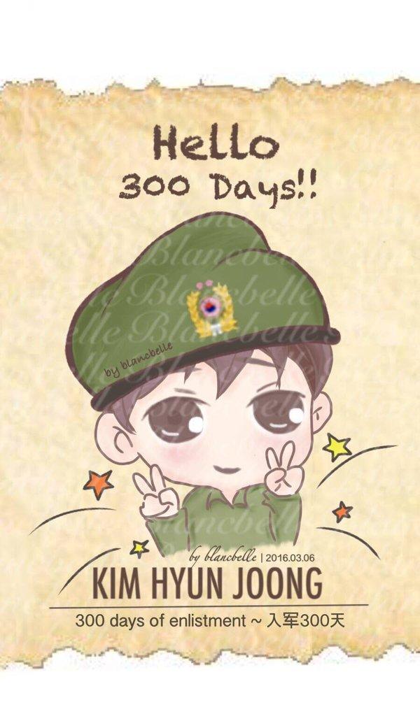 [blancballe Fanart] Kim Hyun Joong - 300 days of enlistment [2016.03.06]