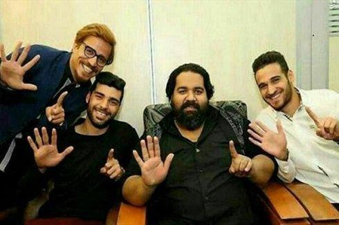 ستارههای پرسپولیس در کنار رضا صادقی , اخبار ورزشی