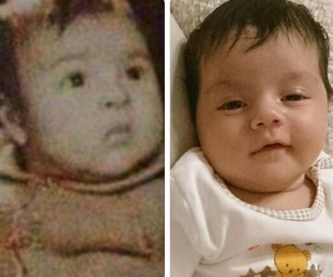 عکس جالب از چهره کودکی زیبا بروفه , عکس بازیگران