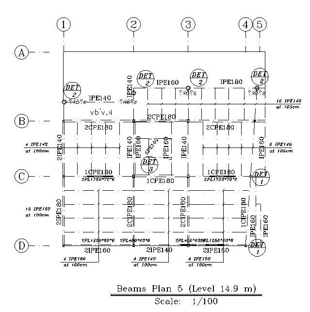 دانلود نقشه های سازه و معماری یک ساختمان 4 طبقه با اسکلت فلزی به ...دانلود نقشه های سازه و معماری یک ساختمان ۴ طبقه با اسکلت فلزی به همراه جزییات