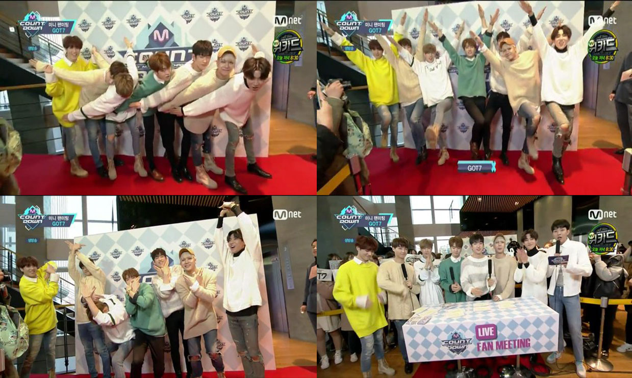 GOT7 MNET M!Countdown Live Fan Meeting