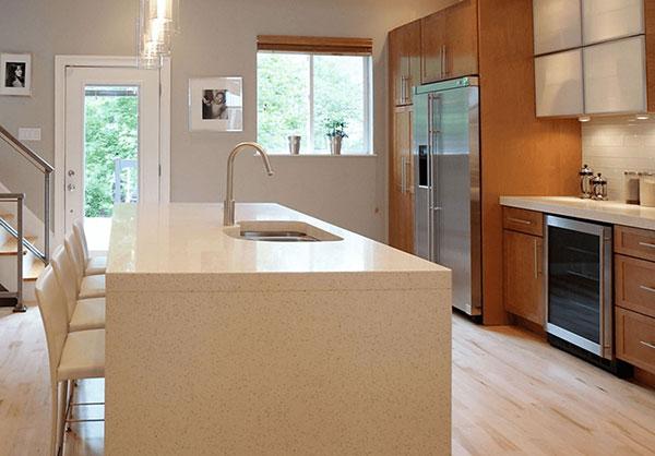 آشپزخانه و نورپردازی