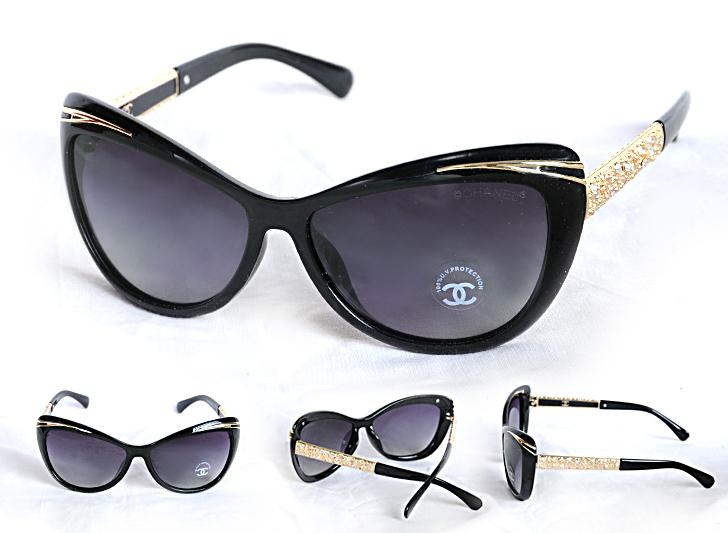 عینک آفتابی چنل 2016 نگین دار زنانه