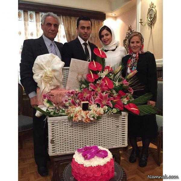 عکس ازدواج نجمه جودکی و همسرش + بیوگرافی