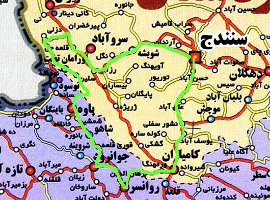 نقشه مسیر