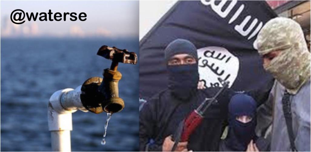 داعش جنگ آب را کلید زده است