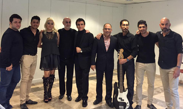 گزارش تصویری کنسرت 27 مارس آنتالیا سیاوش قمیشی