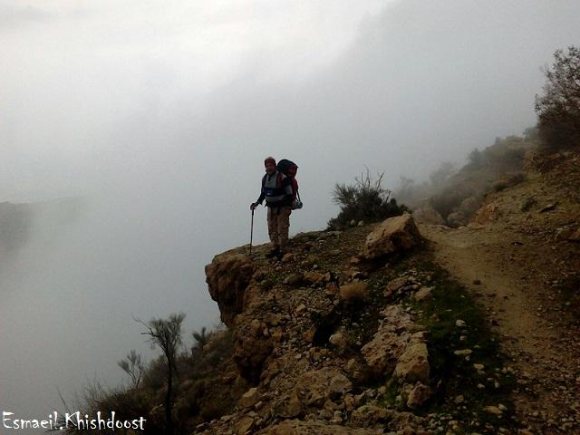 مسیر کوه پراس برازجان