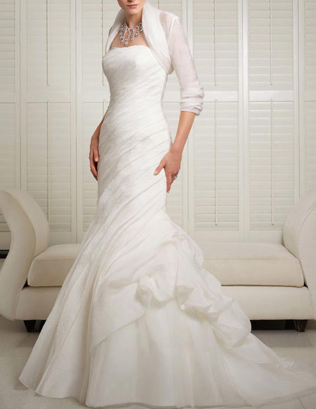 جدیدترین و شیک ترین مدل لباس عروس های آستین دار در سال 2016