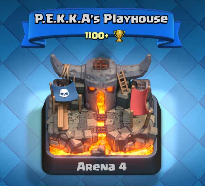 ترکیب مناسب برای حمله در ارنا چهار - Battle Deck Arena 4