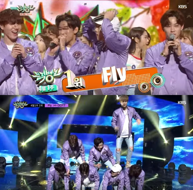 KBS Music Bank - GOT7 No.1 Win Full Encore Cut