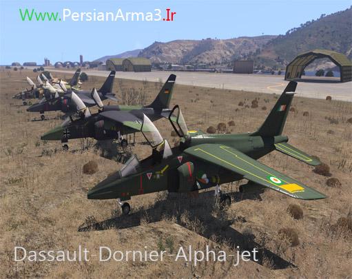 مود جنگنده Dornier Alpha Jet برای Arma 3
