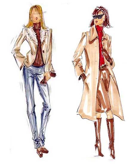 سفارش طراحی لباس زنانه
