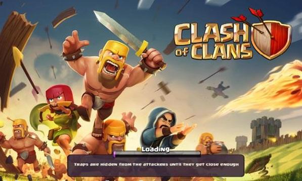 جملات بارگزاری بازی Clash Of Clans