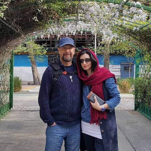 عکس محمد بحرانی و همسرش در تعطیلات , چهره های ایرانی