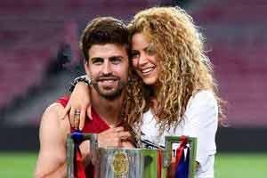 عکس جدید پیکه و همسرش شکیرا , اخبار ورزشی
