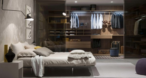 کلوست یا اتاق لباس در اتاق خواب