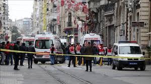 انفجار بمب در استانبول